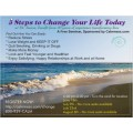 Experiential Seminar - 5 Steps to Change Your Life Today